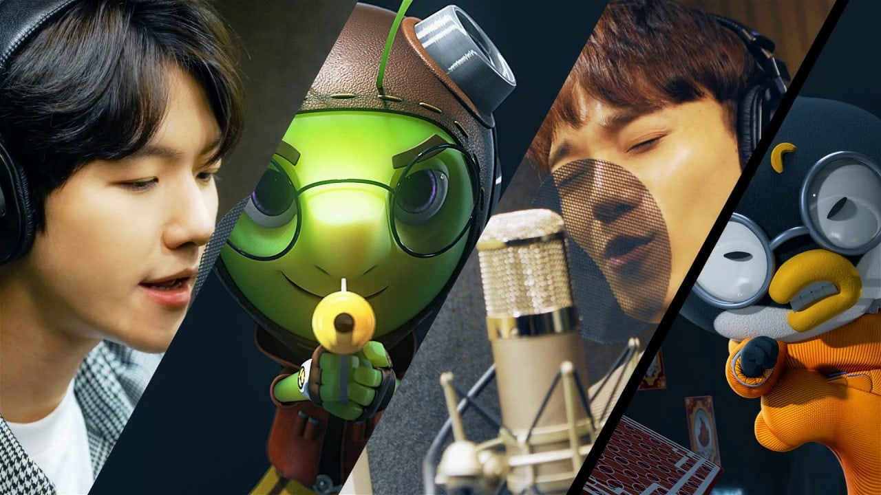 """Watch: EXO-CBX Releases Upbeat Theme Song For """"Running Man"""" Animation"""