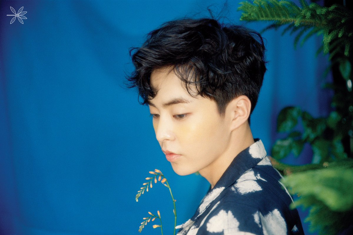 update exo�s xiumin looks like an ethereal summertime