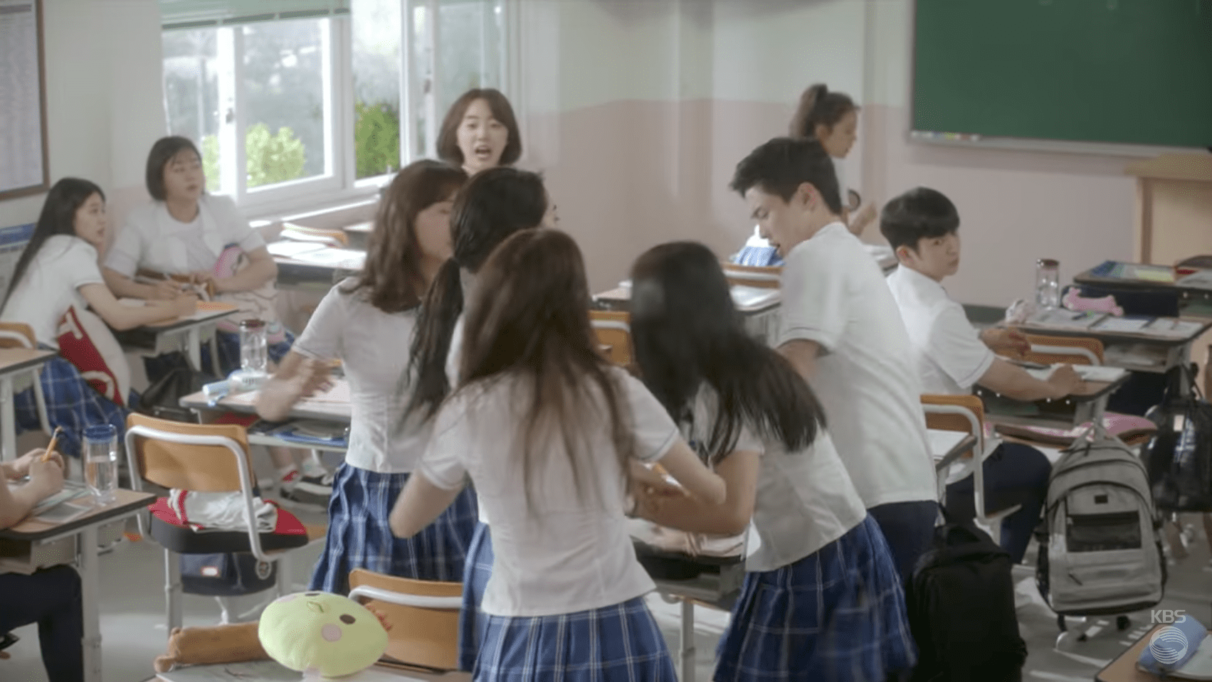 """Watch: Fights Break Out Between Students, Teachers, And More In New """"School 2017"""" Teaser"""