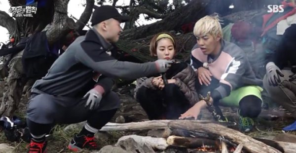 """Law Of The Jungle"" PD Reacts To UEE And Kangnam's Dating News"