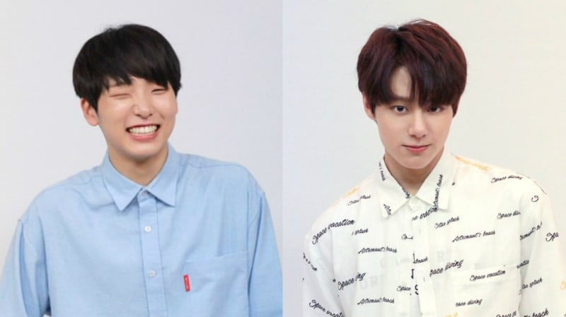 """Lee Gun Min And Yeo Hwan Woong From """"Produce 101 Season 2"""" Reveal Which Artists Inspired Them"""