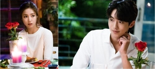 """Shin Se Kyung And Nam Joo Hyuk's Characters Enjoy A Dinner Date In New Stills Of """"Bride Of The Water God"""""""