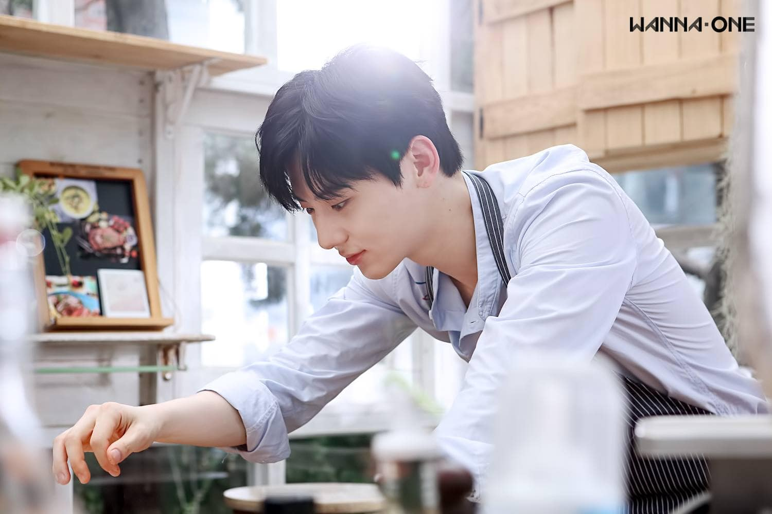 Wanna Ones Hwang Min Hyun Is Ready To Cook For You In Individual Teaser Images