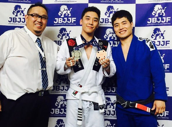 BIGBANGs Seungri Wins Medals At First Jiu-Jitsu Match