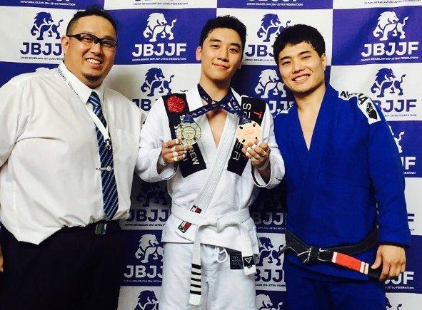 BIGBANG's Seungri Wins Medals At First Jiu-Jitsu Match