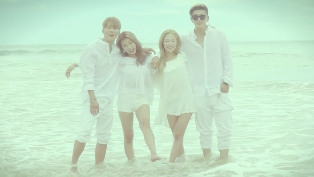 """Update: KARD Shares Fun Behind-The-Scenes Look At """"Hola Hola"""" MV In Special Teaser"""