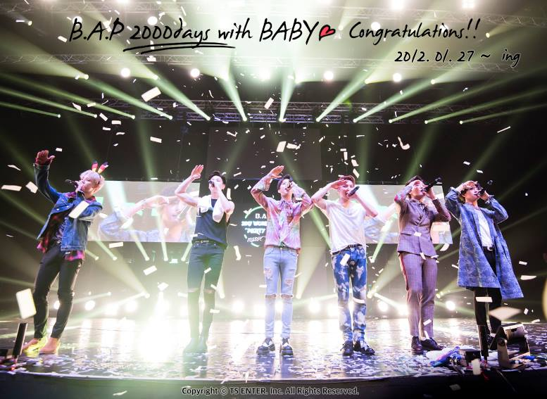 B.A.P Members Thank Fans On Instagram For 2000 Day Debut Anniversary