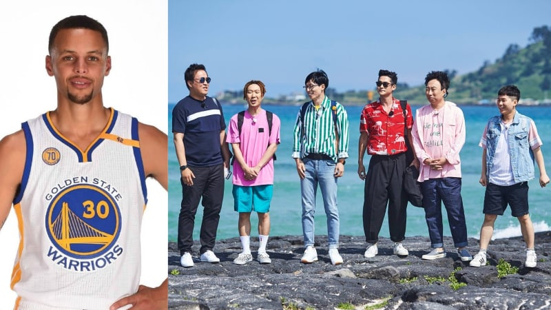 NBA Star Stephen Curry To Appear As Guest On Infinite Challenge