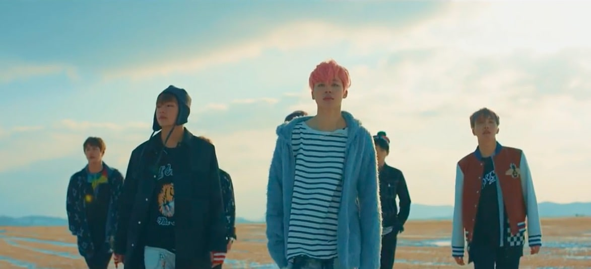 """BTS' """"Spring Day"""" Becomes Their 7th MV To Hit 100 Million Views"""