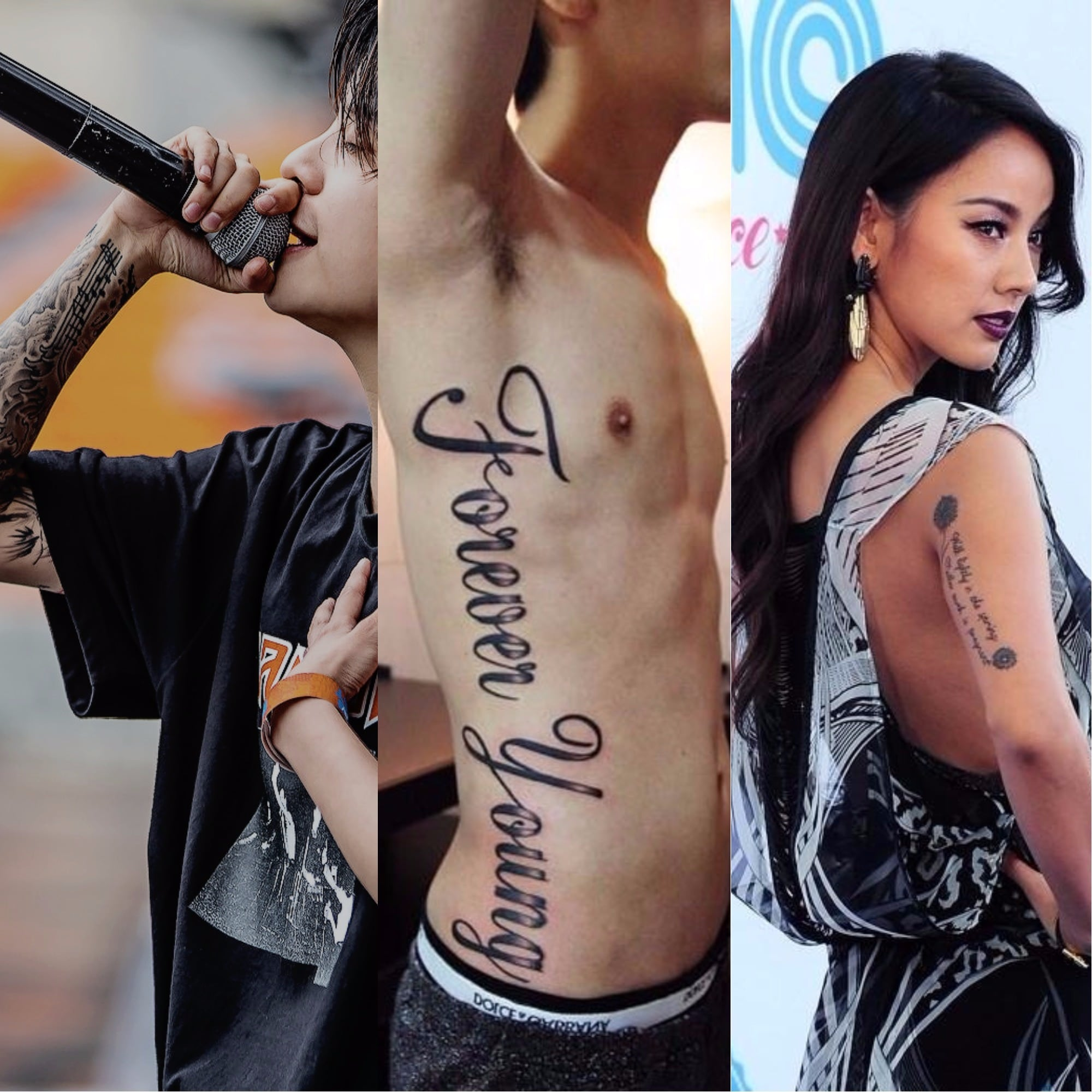 15 Korean Artists Who Have Fascinating Tattoos