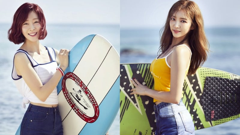 Update: Yujeong And Haein Rock Latest Individual Teasers For LABOUM's Summer Comeback