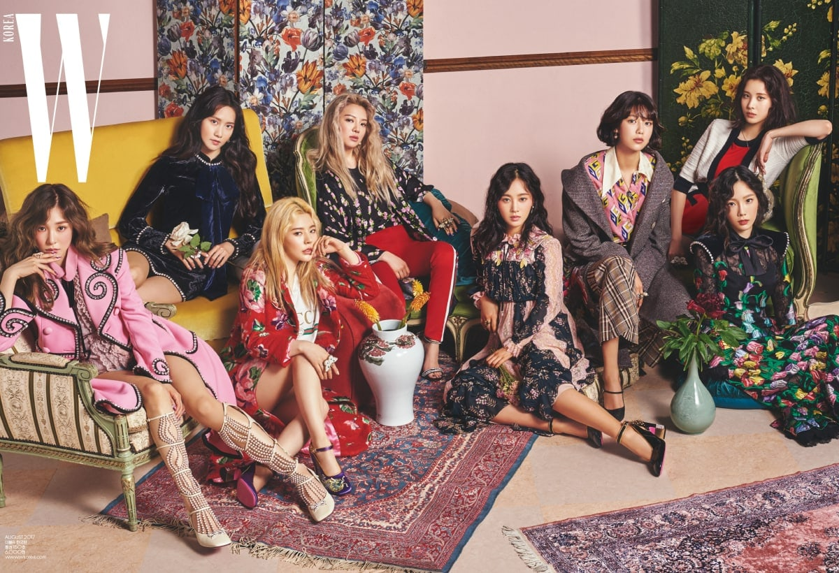 Girls Generation Reflects On The Past 10 Years Together In Anniversary-Themed Pictorial