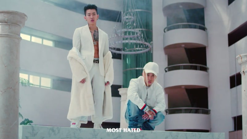 "Watch: Jay Park And Dok2 Prove They Are A Powerful Duo In ""Most Hated"" MV"