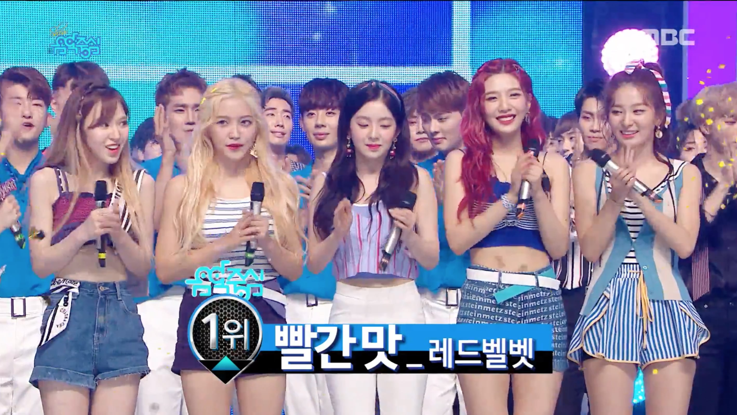 "Watch: Red Velvet Takes 4th Win For ""Red Flavor"" On ""Music Core""; Performances By EXO, KARD, And More"