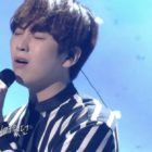 "Watch: B1A4's Sandeul Performs Emotional Duet With Ahn Se Ha On ""Immortal Songs"""