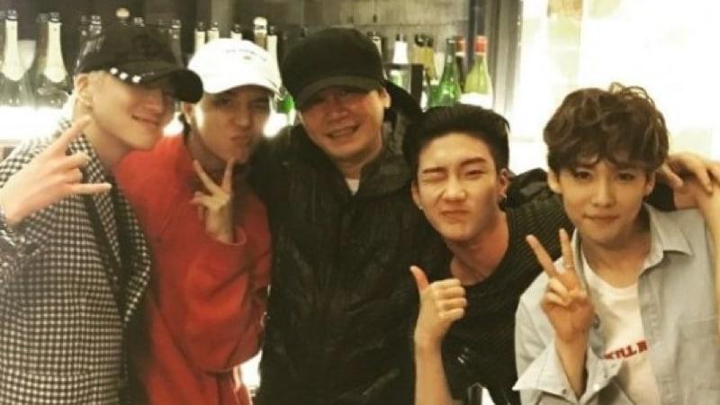 Watch: Yang Hyun Suk Gives Sneak Peek At WINNER's New Track And Music Video