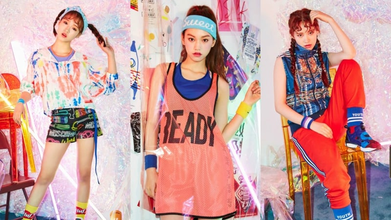 New Girl Group Weki Meki Reveals Funky First Teasers For Debut