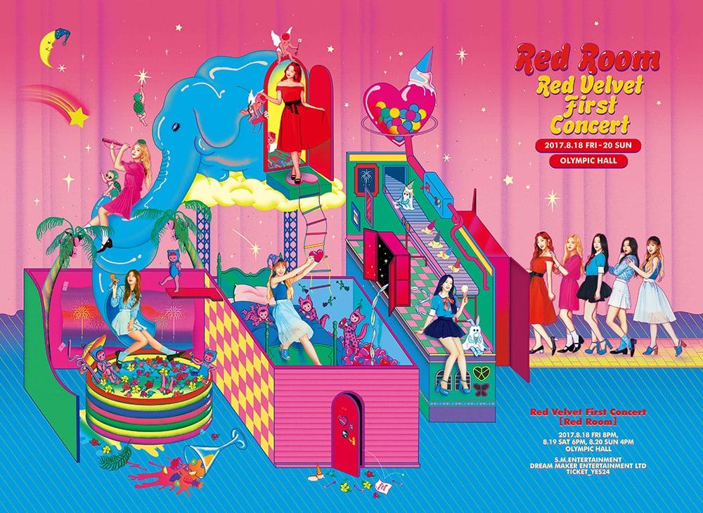 Red Velvet Announces Additional Concert Date After 1st Solo Concert Sells Out