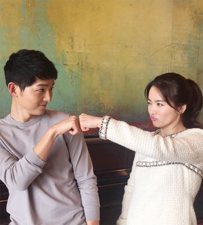 Song Joong Ki Reveals He First Suggested To Song Hye Kyo That They Announce Their Marriage