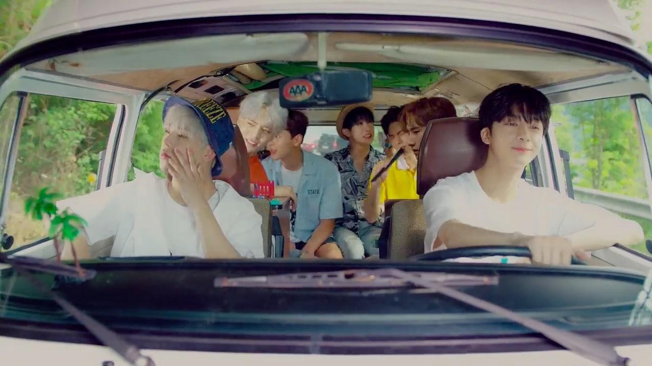 """Watch: MONSTA X Goes On Summer Adventures In """"Newton"""" MV Teaser"""