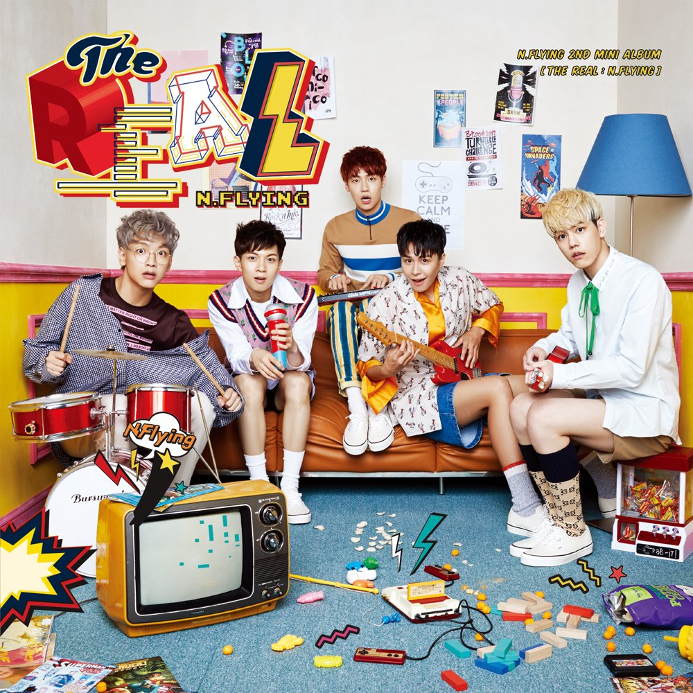 Update: N.Flying Reveals New Group Teaser Photo For Comeback With 5 Members