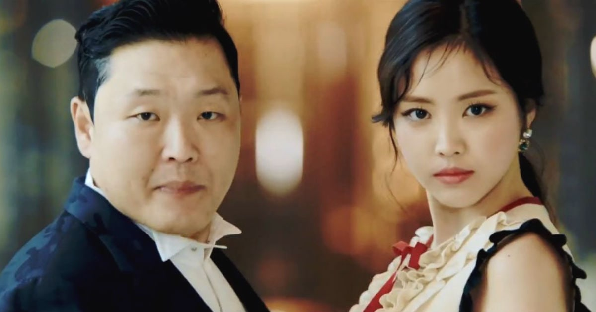 """PSY Reveals Why Apink's Son Naeun Was The Perfect Choice For His """"New Face"""" MV"""