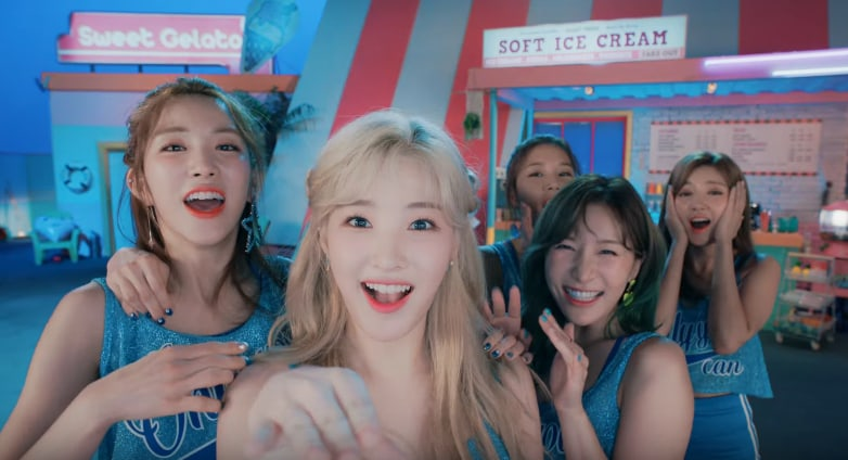 Watch: LABOUM Says Its only u In Cheerful MV