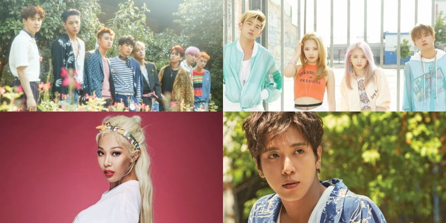 EXO, KARD, Jessi, And Jung Yong Hwa's New Releases Make Debuts On Billboard's World Albums Chart