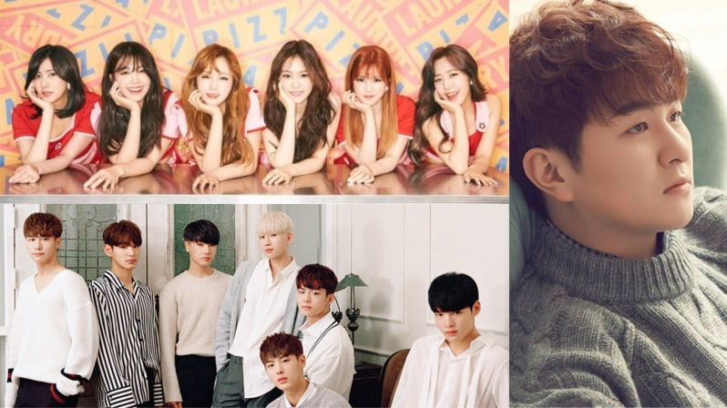Apink, VICTON, And Huh Gaks Agency Announces New Summer Song