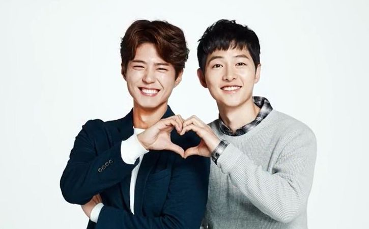 "Park Bo Gum Raves About Song Joong Ki's Acting In Film ""The Battleship Island"""