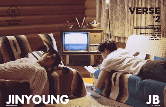 Update: GOT7's Jinyoung And JB Feature In Rustic Teasers For New JJ Project Album