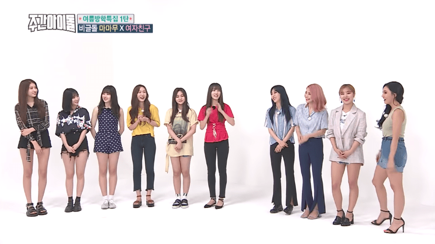 GFRIEND Shares Which MAMAMOO Members They Want To Grow Closer To