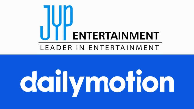 JYP Entertainment Enters Partnership With Video Platform Dailymotion