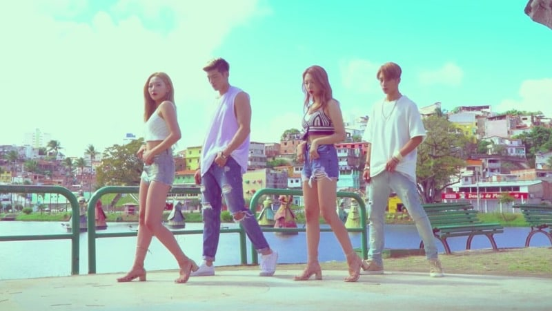 "Watch: KARD Drops Choreography Video For ""Hola Hola"""
