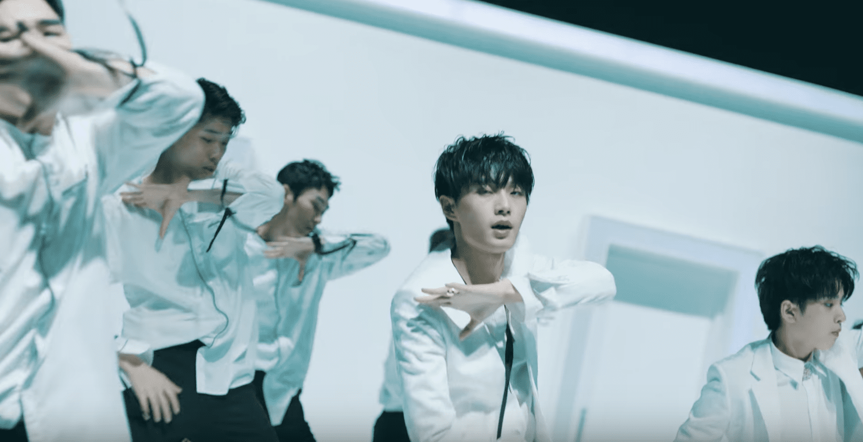 "Update: Kim Yong Guk And Kim Shi Hyun Release Sleek MV Teaser For ""The.The.The"""