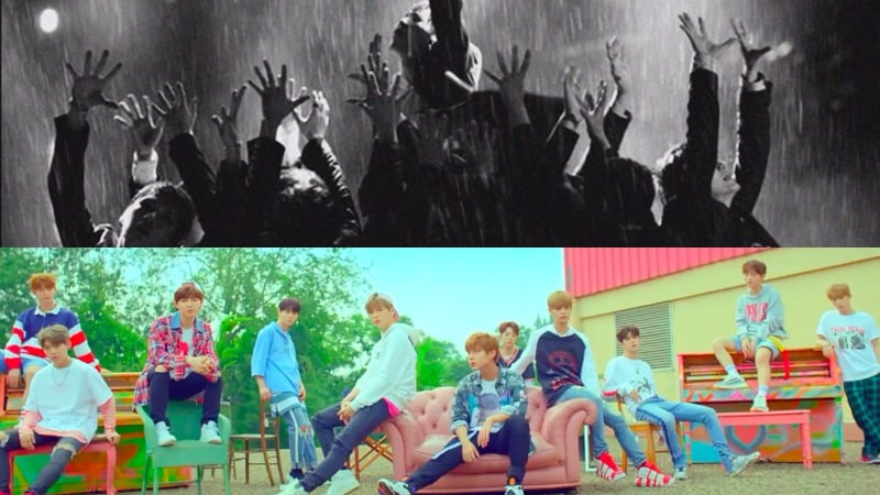 Watch: Wanna One Reveals Contrasting MV Teasers For Debut Mini Album