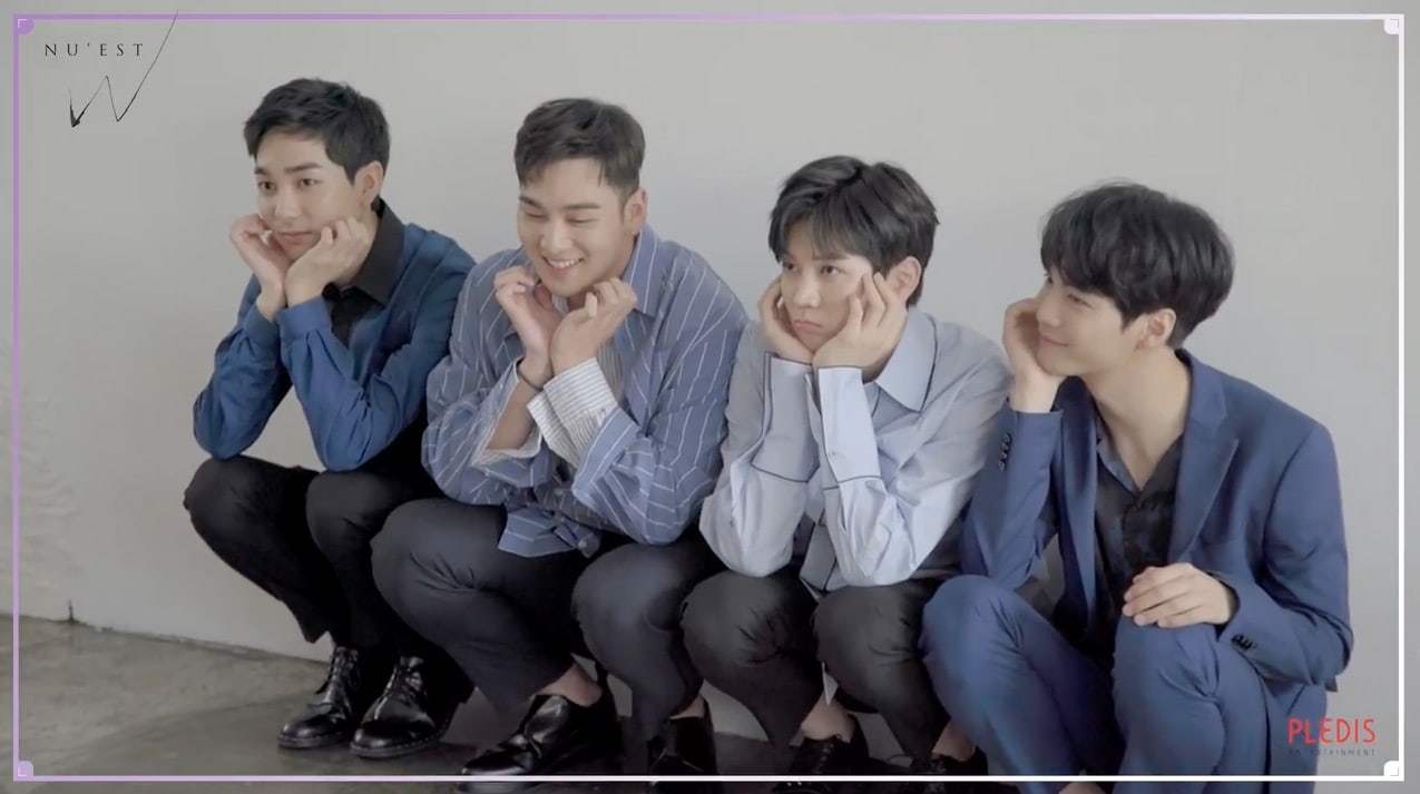 "Watch: NU'EST W Is Nervous But Excited In Behind-The-Scenes Video Of ""If You"" Photo Shoot"