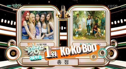 """Watch: EXO Takes 3rd Win For """"Ko Ko Bop"""" On """"Music Bank,"""" Performances By UP10TION, KARD, And More"""