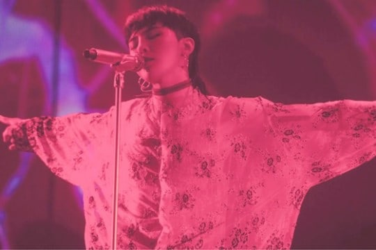 BIGBANG's G-Dragon Thanks Fans For Their Love And Support As He Wraps Up U.S. Leg Of His World Tour