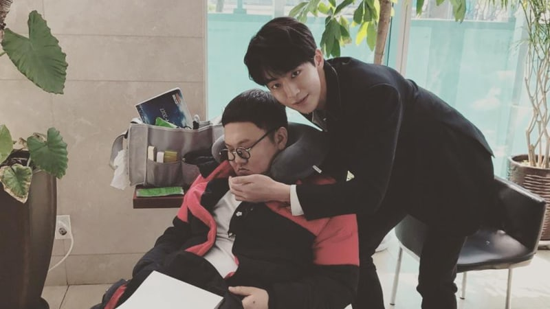 """Bride Of The Water God"" Reveals Behind-The-Scenes Bromance With New Stills"