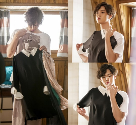 Go Kyung Pyo Makes An Unexpected Transformation In New Preview Stills From Upcoming Drama