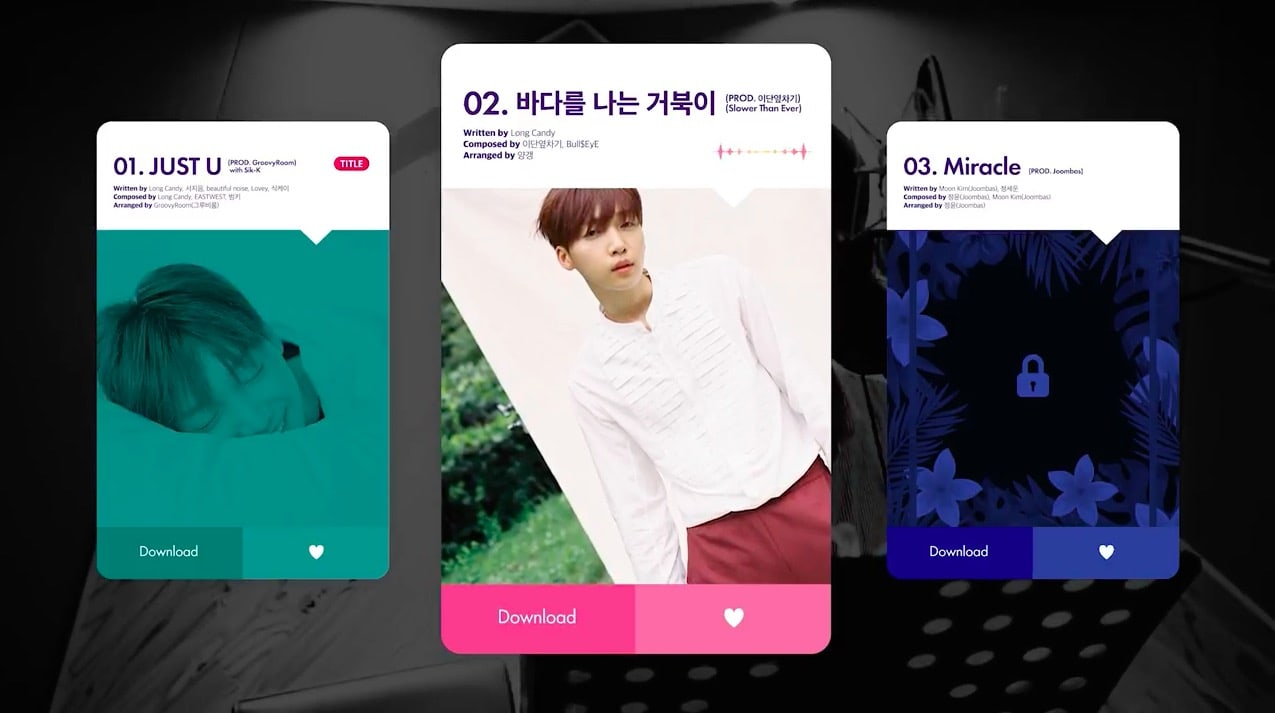 Update: Jeong Sewoon Previews Tracks On Debut Mini Album