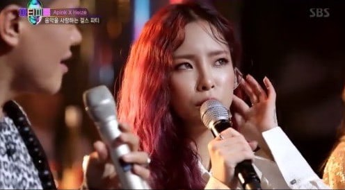 Heize Reveals Dating Style And Gets Praised By Park Jin Young