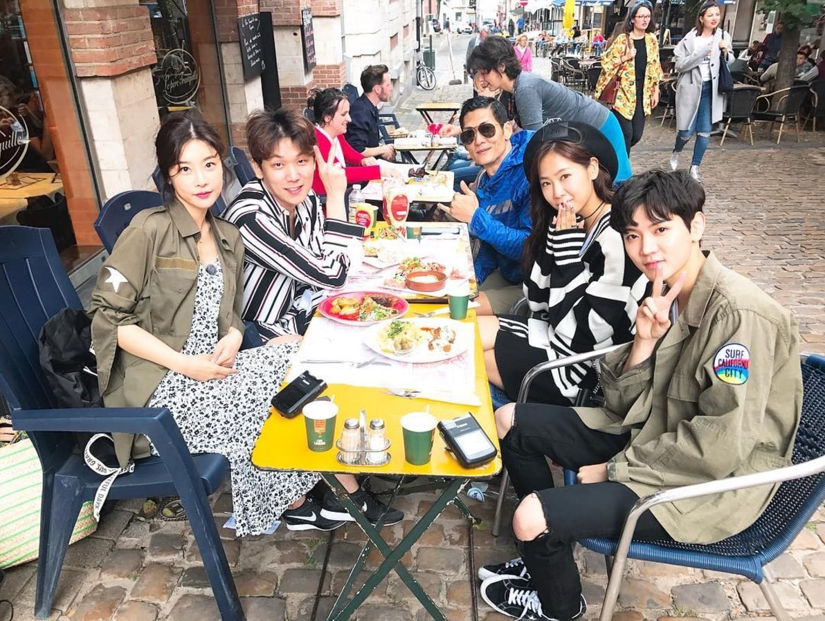NU'EST's Ren Shares 1st Look At Cast Of New Variety Show In Belgium + Cast Shares More Selfies