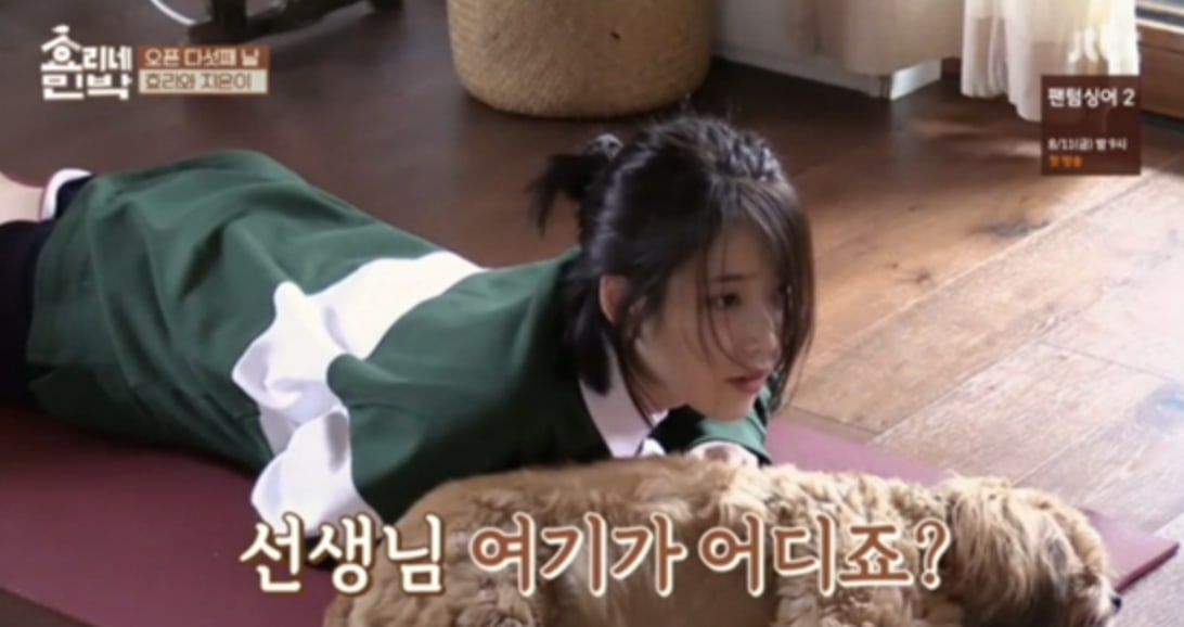 Watch: IU Gets Completely Worn Out From Lee Hyoris Yoga Class