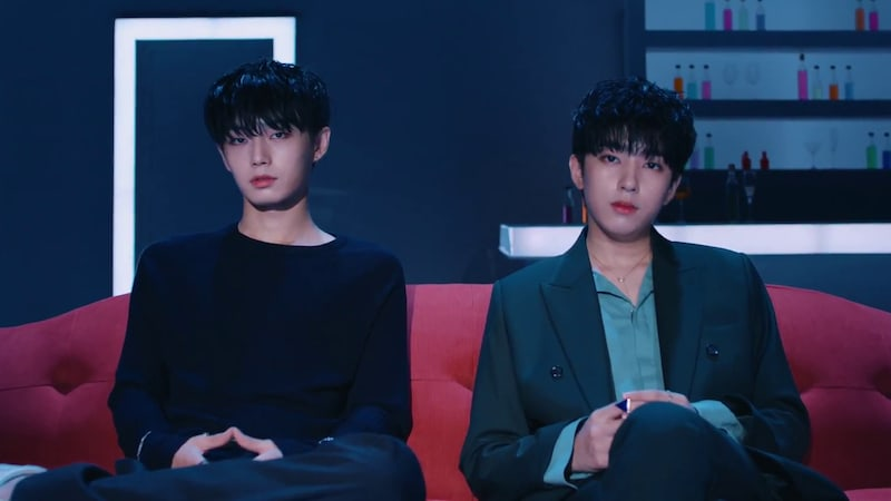"Watch: Kim Yong Guk And Kim Shi Hyun Make Unit Debut With MV For ""the.the.the"""
