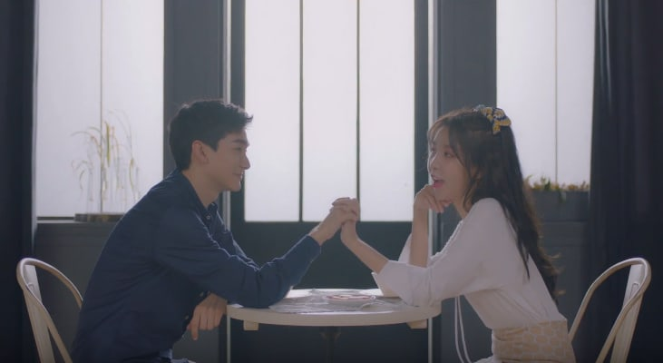 "Watch: Raina And NU'EST's Aron Go On A Date In Adorable MV For ""Loop"""