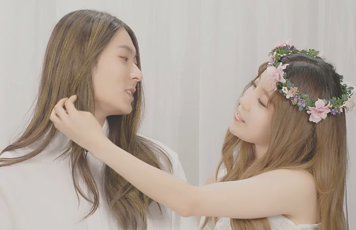 Watch: Jang Moon Bok Performs Lovely Duet With Former Produce 101 Contestant Hwang A Young