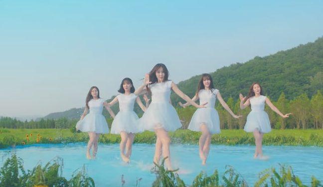 """Watch: GFRIEND Beautifully Dances In Water For """"Love Whisper"""" MV"""