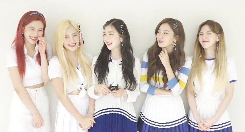 Watch: Red Velvet Thanks Fans On 3rd Debut Anniversary